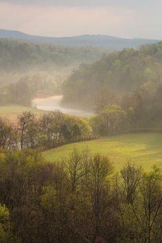 The Ozark Mountains of Arkansas