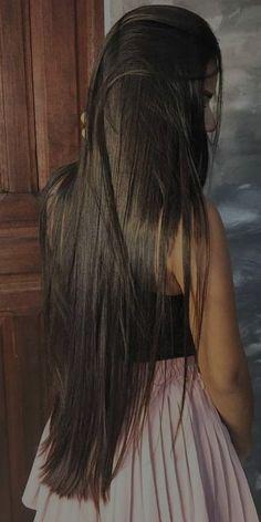 Pretty Hairstyles, Wig Hairstyles, Straight Hairstyles, Beautiful Long Hair, Gorgeous Hair, Curly Hair Styles, Natural Hair Styles, Mode Poster, Long Dark Hair