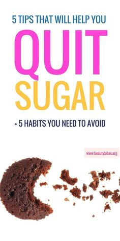 Doing a little sugar detox (fruit allowed), here's what helped and what didn't help me with quitting sugar! | how to quit sugar | www.beautybites.org/quitting-sugar-works-doesnt-week-1/ | sugar addiction #sugardetox #sugardetoxfruit