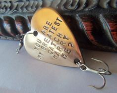 Will You Marry Me Unique Proposal Wedding by CandTCustomLures, $17.00