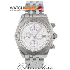 White on White Breitling. Perfect any time of the year.  Certified #preowned by WatchFacts and available from our endorsed dealer Chronostore.