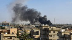 Libya marks year of putschist Gen. Haftar& offensive -- While the world is gripped by the coronavirus pandemic, war-shattered Libya marks one year Saturday of its latest bloody conflict that is plunging it ever deeper into chaos. Muammar Gaddafi, Un Security, Image Caption, News Today, Paris Skyline, Death, Army, Europe, Military