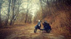 Love you. My Vespa pk 50 xl piaggio scooter