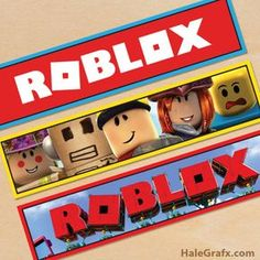 Free Printable Roblox Water Bottle Labels Joint Birthday Parties 8th Ideas