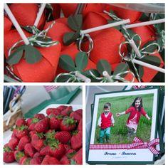 SCRAPPETTANDO: Strawberry party....due compleanni e tante fragole! (1 parte: ipreparativi)