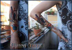 Kandinsky Tattoo by Donna Tinta - www.donna-tinta.com
