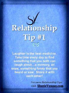 #relationship tip  Laughter is the best medicine