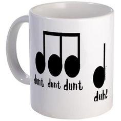 Beethoven's 5th Music Mug!