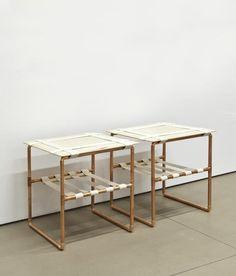 "DAVID CHANG ""MARU"" SIDE TABLES, 2011"