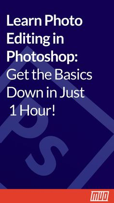 Learn Photo Editing in Photoshop: Get the Basics Down in 1 Hour - Image Editing - Edit image online tool. - Learn photo editing in Photoshop: Get the basics down in just 1 hour Learn Photoshop, Effects Photoshop, Photoshop For Photographers, Photoshop Photos, Photoshop Design, Editing Pictures, Photoshop Actions, Adobe Photoshop, Photoshop Website