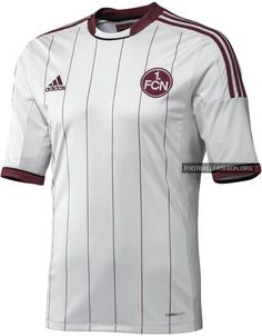 1. FC Nürnberg Away Kit 2012/13 Adidas