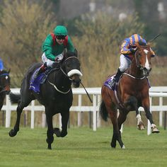 Harzand (IRE) & Idaho (IRE) in the 2016 Ballysax Stakes (IRE-G3)