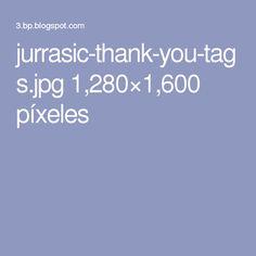 jurrasic-thank-you-tags.jpg 1,280×1,600 píxeles