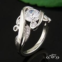 Široký a spletitý Zásnubný prsteň  #GreenLakeJewelry