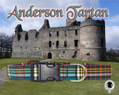 Anderson Tartan Dog Collarauthentic tartan of the by TheTartanPup, $24.00