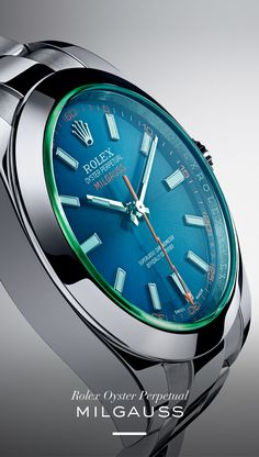 The Rolex Milgauss 40 mm. #RolexOfficial #Baselworld.