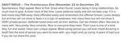 I don't even believe in horoscopes but this one is freakishly accurate.