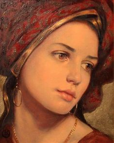 Buy art by Ken Hamilton at Gormleys Fine Art gallery. Leading dealers in Irish art since Classic Paintings, Old Paintings, Beautiful Paintings, Mode Poster, Renaissance Kunst, Renaissance Artists, Irish Art, Classical Art, Woman Painting