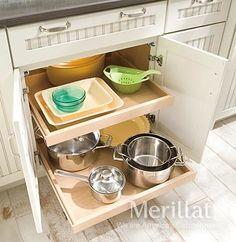 Merillat Classic® Base Roll-out Tray - Merillat