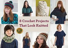 8 Projects You Won't Believe Are Crochet!