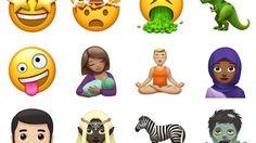 """نشرت صحيفة """"ديلى ميرور"""" البريطانية مجموعة من الصور التى تتضمن الرموز التعبيرية الجديدة أو emojis، التى يتيحها تحديث ios 11 الجديد، لهواتف آيفون. وأعلنت شركة """"آبل"""" أن التحديث الجديد يقدم 70 رمزا تعبيريا جديدا متوفرة لأجهزة """"آيباد&#8..."""