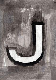 - J - Art Print by Resistenza