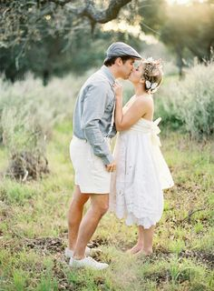 INSPIRATION: Butterfly Bride. How cute is the groom's outfit?