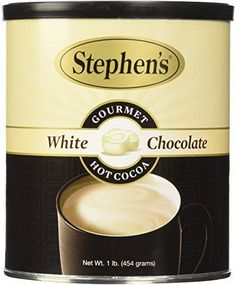 Stephen's Gourmet Hot Cocoa, White Chocolate, 16-Ounce Can Stephen's Gourmet http://www.amazon.com/dp/B00631FR8K/ref=cm_sw_r_pi_dp_0jKZwb11XVJFY