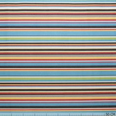 Outdoor Sunproof Stripe Multi Colour