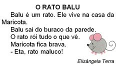 Texto O rato Balu