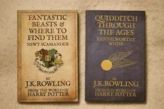 Harry Potter school books