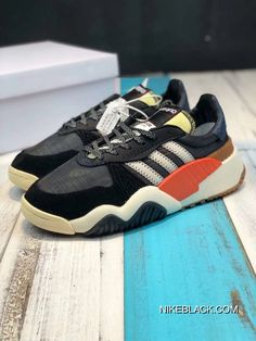 36d6397ba7 Adidas Alexander Wang AW Turnout Trainer AQ1237 Daddy Shoes Core Black /  Chalk White / Bold Orange Latest