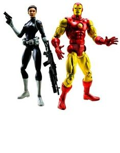 Marvel Legeneds Shield Leaders  Iron Man  Maria Hill >>> You can get additional details at the image link.