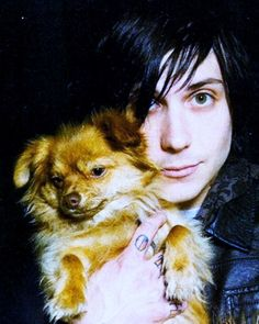 Cute, I love this man Frank Iero