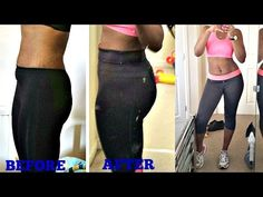 30 Days Squat Challenge Result / Before and After Pics + Body Shot - YouTube