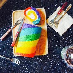 レインボーケーキ 狎鴎亭