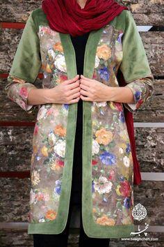 Baaghcheh Iranian Women Fashion, Muslim Fashion, Hijab Fashion, Boho Fashion, Girl Fashion, Fashion Dresses, Womens Fashion, Fashion Design, Retro Fashion