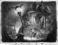 disney's pinocchio environment art - Google Search