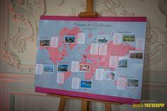 21 Plan de table voyage