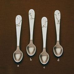 Baby Feeding Spoons from Beehive Kitchenware
