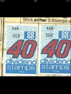 Coop stamps