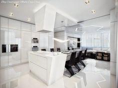 Apartamento Futurístico Preto e Branco!!!