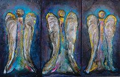 Art World, Wonders Of The World, Original Art, My Arts, Angel, Joy, Check, Painting, Painting Art