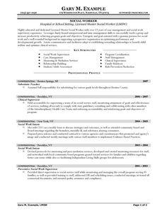 social work cv examples uk