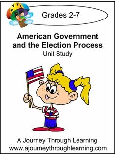 American Government and the Election Process Unit Study #homeschool #lapbooks