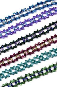 Beaded Square Bracelets