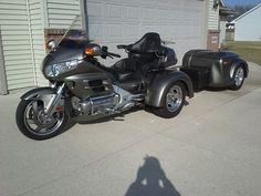Goldwing Trike, Motorhome, Honda, Motorcycle, Bike, Vehicles, Cars, Bicycle, Rv