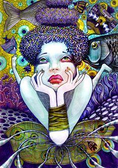 www.tambuki.ru lena snegireva abstract acid lsd art