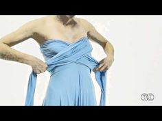 Instructional youtube video on the different ways to tie the Infinite dress...
