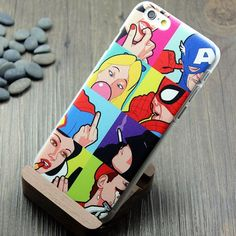 Spoof Superman Spiderman Batman Iphone5/6 Case|Creative Iphone Cases - Iphone Accessories - ByGoods.com